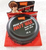 Lolane HEAD UP MATT WAX Styling Hair Strong Hold Shiny Man Smart Handsome 75g