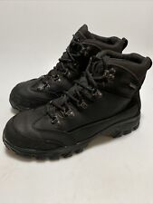 Wolverine Spencer Mens Waterproof Work Boots Size 9 Black Leather Hiking W05126