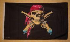 Fahne Flaggen PIRAT MIT PISTOLE 150x90cm TDShop24