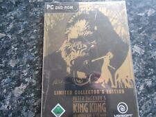 Peter Jackson's King Kong Limited Edition für Pc Neu/Ovp in METALLBOX Steelbox