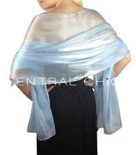 Écharpes et châles étoles bleus pour femme