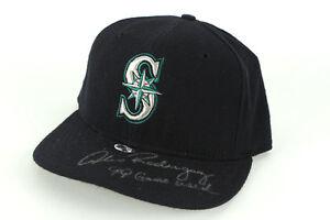 1999 Alex Rodriguez, Seattle Mariners, Game Worn, Signed & Inscribed Hat, JSA