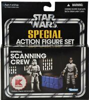 KENNER STAR WARS IMPERIAL SCANNING CREW Kmart Exclusive Action Figure NIB B750