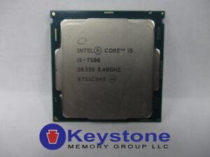 Intel Core i5-7500 SR335 3.4GHz Quad Core LGA 1151 CPU Processor *km
