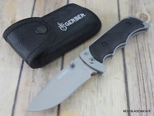 8.1 INCH GERBER FREEMAN GUIDE FOLDING POCKET KNIFE WITH NYLON SHEATH