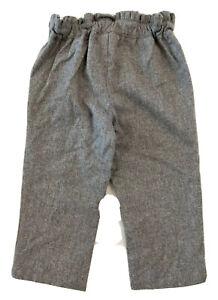 Jacadi Toddler Girl Wool Pants Gray Size 2T