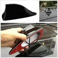 Black Universal Auto Car Roof Radio AM/FM Signal Shark Fin Aerial Antenna UK