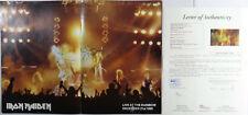 SIGNED IRON MAIDEN AUTOGRAPHED 1981 KILLERS TOUR BOOK PROGRAM JSA LOA # Z14505