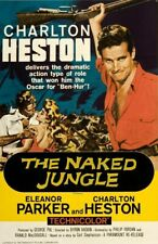 16mm THE NAKED JUNGLE (1954). Color ACTION Feature Film.