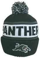 Penrith Panthers NRL Embroidered Striker Pom Pom Beanie!