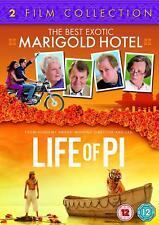 The Best Exotic Marigold Hotel / Life of Pi - 2 Film Collection               H