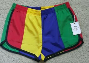 Forever 21 rainbow shorts Women Small/Girls large