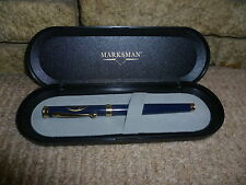 Vintage marksman Arai fountain pen in box Iridium tipped German