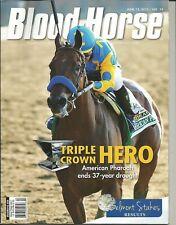 2015 Blood Horse magazine American Pharoah Belmont Stakes wins Triple Crown