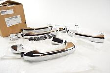 2014-2018 Chevrolet Silverado Chrome Front and Rear Outside Door Handle Kit OEM