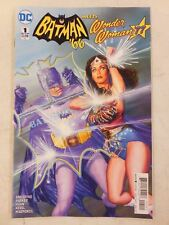 BATMAN 66 Meets WONDER WOMAN '77  # 1  ~ Adam West Lynda Carter ALEX ROSS  NM