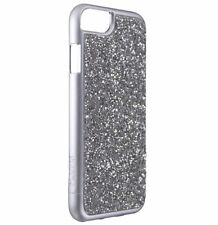 Skech Jewel Series Case Cover for Apple iPhone 6s 6 - Silver / Silver Crystals