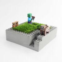 Bonsai Flowerpot Silicone Mold Concrete building block Cement Planter Tool Mould