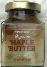 2 Trader Joe's Organic Vermont Maple Butter Syrup  pancakes waffles creamy yum