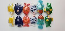 floating tropical fish candles Pier 1 party candles colorful fish with net K1