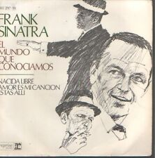 FRANK SINATRA EP Spain 1967 The world we knew +3