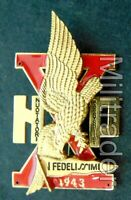 Italian WWII Special Forces NP Swimmer Parachutist Badge (X MAS 10th)