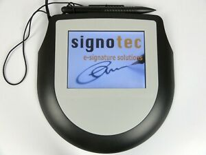 signotec Color LCD Signature Pad Omega (Germany)