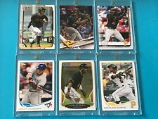2013 Topps Opening Day + BOWMAN CHROME Starling Marte RC's +BOWMAN Josh Bell RCs