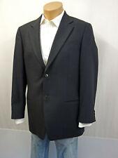 ARMANI Designer Sakko Jacke Jacket Gr.52 Janker Wollmischung Grau Schwarz