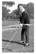 rp10618 - Silent Film Actor - Charlie Chaplin plays Golf - photograph 6x4