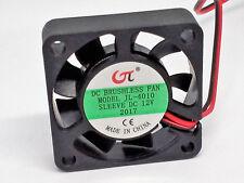 ? Kleiner CPU- und Gehäuselüfter (Lüfter) 40x40x10mm, 12V=, mit 2pol Buchse