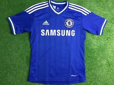 CHELSEA  ADIDAS FOOTBALL HOME  SHIRT  2013 - 14 AGE 13 -14 YEARS