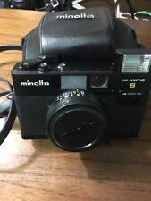 Minolta Rokkor Hi-Matic S 35mm Film Camera f2.7 38mm With Original Case