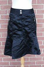 Women's Doll House Black SKIRT Flared Asymmetrical Size 5/6