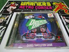 dance dance revolution PlayStation 1 PSX PS1 Retro Game import japan ntsc j JAP