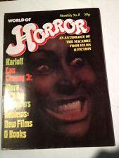 World Of Horror # 8, ( Uk )