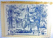 PENN STATE UNIV., 'OLD MAIN', original Pen and Brush Drawing, by Milton Osborne