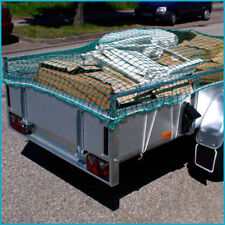 Anhängernetz Transportnetz 2,5 x 4,0 m DEKRA geprüft PP 3 mm Mw. 45 mm grün