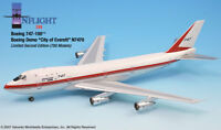 Inflight IF741004A Boeing 747-100 City Of Everett N7470 Diecast 1/200 Jet Model