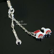 New Authentic SWAROVSKI Edison Scooter CAR Cell Phone CHARM