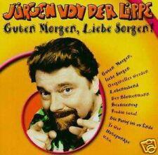 Jürgen Von Der Lippe - Guten Morgen, Liebe Sorgen CD NEU Beamtenrap Blumenmann