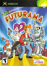 Futurama (Microsoft Xbox, 2003) NO MANUAL