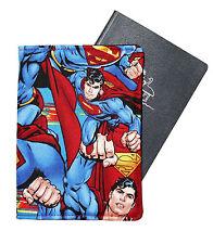 PASSPORT COVER/FOLDER/WALLET made from SUPERMAN fabric by Graggie Australia *GA