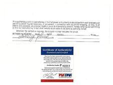 Nastassja Kinski Signed Authentic Autographed Cut Document (PSA/DNA) #P92213