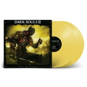 VINYLE DARK SOULS III LIMITED YELLOW ORIGINAL GAME SOUNDTRACK NEW