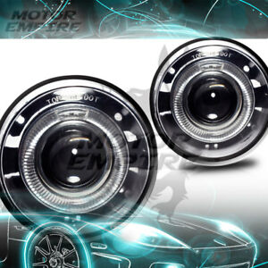 For 2006-2010 Jeep Commander Halo Projector Fog Lamps