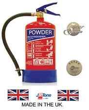 Jactone Premium 4kg ABC Powder Fire Extinguisher Rated 21a / 113b UK Manufacture