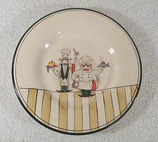 """Le Chef 11"""" Dinner Plate - Two Cooks - by Hd DESIGNS  - Multiples Available"""