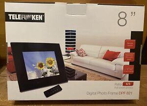 TELEFUNKEN DPF821Digitaler Bildrahmen 8 Zoll (20 cm) 4/3 Neu, OVP
