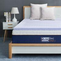 BedStory Cool Gel Memory Foam Mattress Topper 3 Inch KING-size Lavender softness